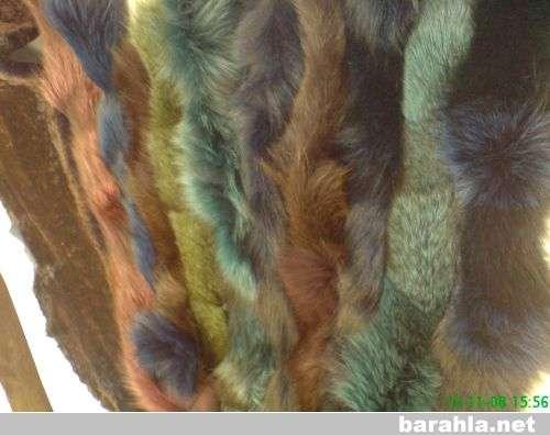 опушки из натурального меха разных цвет в Санкт-Петербурге Фото 2