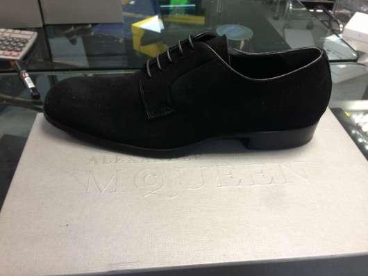 Ботинки замшевые Alexander McQueen