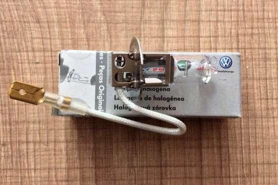 Лампа накаливания противотуманной фары N0177622 VAG