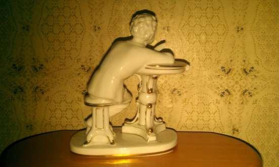 Фарфоровая статуэтка ' Юный Пушкин.' в Москве Фото 1