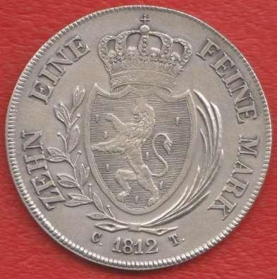 Германия Герцогство Нассау талер 1812 г. №2