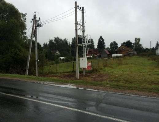 Продается земельный участок 10 соток в д. Аникино (вблизи ж/д станции Шаликово) ,86 км от МКАД по Минскому шоссе. в г. Можайск Фото 1