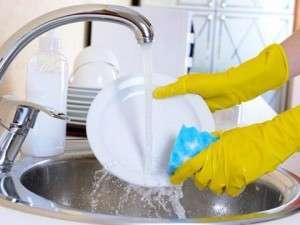 Посудомойщик-уборщик