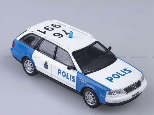 полицейские машины мира №38 AUDI A6 AVANT полиция швеции в Липецке Фото 5