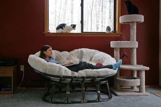 Мебель плетеная из натурального ротанга диван мамасан в Краснодаре Фото 1