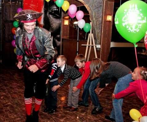 Детский день рождения, шоу мыльных пузырей