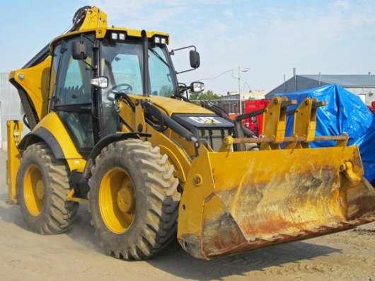 Экскаватор-погрузчик CAT 434, 2013 г., 700 м/ч, НОВЫЙ
