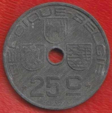 Бельгия 25 сантимов 1942 г. немецкая оккупация