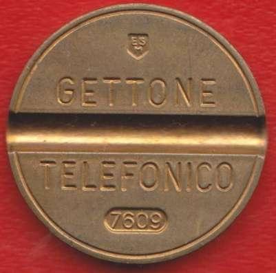 Жетон телефонный Италия