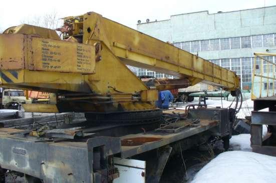 Установка автокрана 16-25 тонн в Екатеринбурге Фото 2