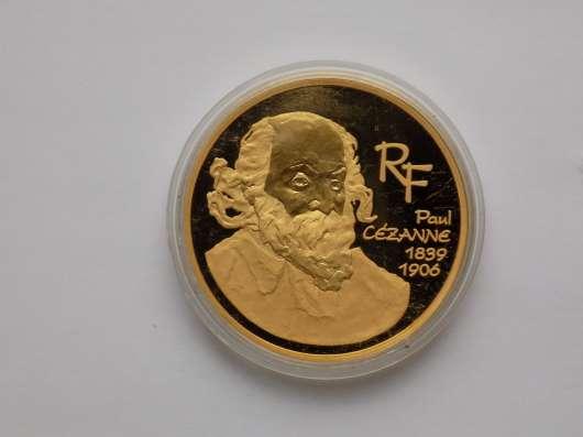 Инвестиционная монета Paul Cezanne