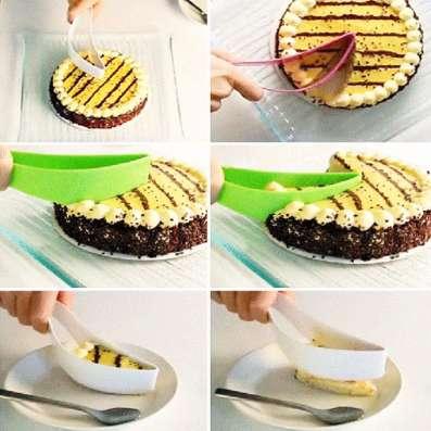 Нож для нарезки и переноски торта
