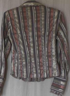 Блузка в полоску, р-44 (46), Польша в Новосибирске Фото 1