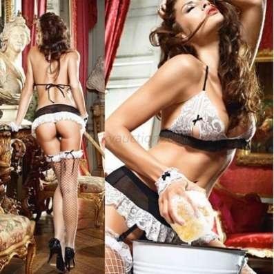 Эротический костюм горничной  Эротическое белье
