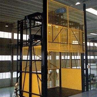 Промышленные подъемники (грузовые лифты) в Белорецке Фото 1