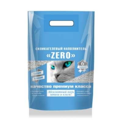Силикагелевый наполнитель ZERO для кошек
