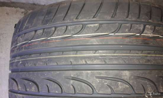 Новая спарка Dunlop 265/35ZR18 и 245/40ZR18