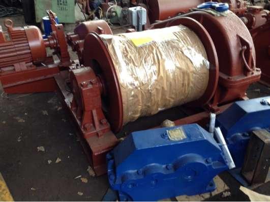 Лебедка маневровая электрическая ЛМ-3,2 с тросом
