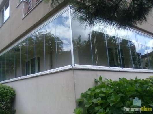 Системы безрамное остекление PanoramGlass в г. Одесса Фото 1