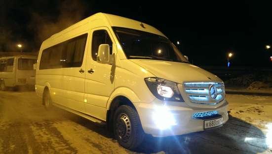 Пассажирские перевозки по России на микроавтобусах Мерседес