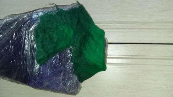 Шарф зеленый новый