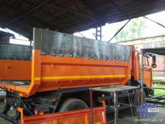 Наращивание бортов на самосвалы всех видов, полога, лесенки, тенты на грузовой транспорт