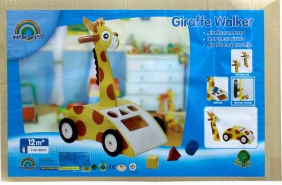 Каталка-ходунки жираф с сортером Wonderworid в Москве Фото 1
