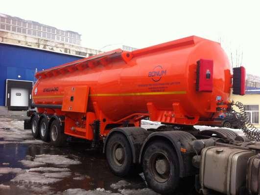Полуприцеп-бензовоз BONUM цистерна 28 м3 в Екатеринбурге Фото 1