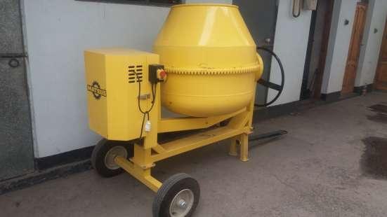 Бетономешалка 500 литров, 220 В, передвижная на колесах