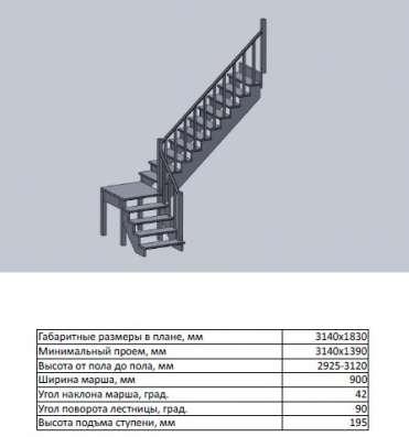 Деревянные лестницы от 20 тыс. руб в Москве Фото 1