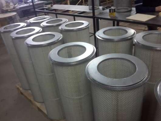 Сменный фильтр для дробеметного, пескоструйного оборудования в г. Псков Фото 1