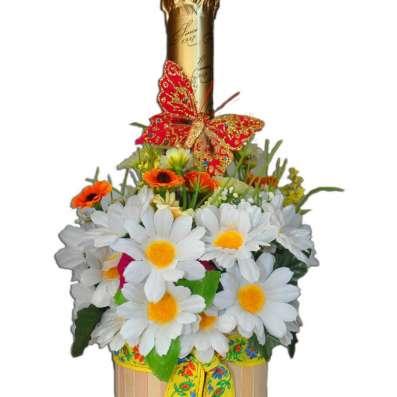 Украшение бутылок к празднику! в Москве Фото 1