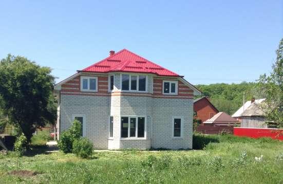 Новый капитальный дом под отделку с мансардной крышей