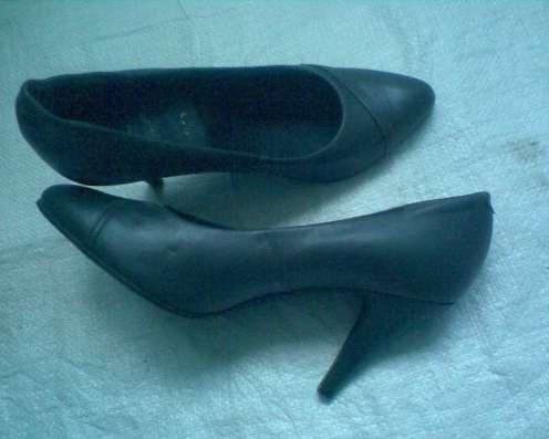 Темно-серые шикарные туфельки из натуральной кожи в г. Лозовая Фото 3