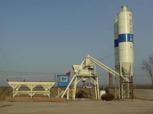 Продается новый бетонный завод HZS35 с силосом 70 тонн