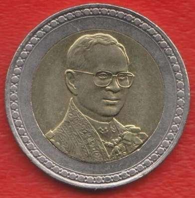 Таиланд 10 бат 2006 г. 60 лет коронации Рамы IX