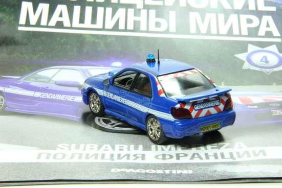 полицейские машины мира №4 SUBARU IMPREZA полиция франции в Липецке Фото 3