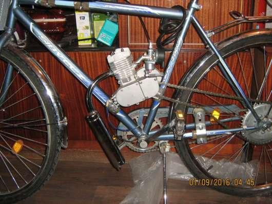 Продаю дорожный велосипед, или мотовелосипед, или двигатель в Барнауле Фото 1