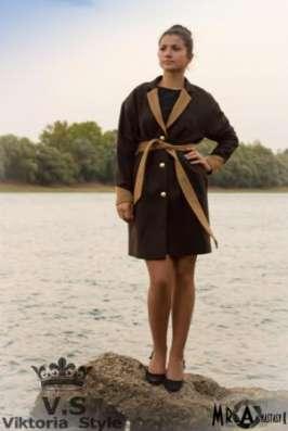 Эксклюзивная коллекция осенних пальто от Viktoria Style в Москве Фото 2