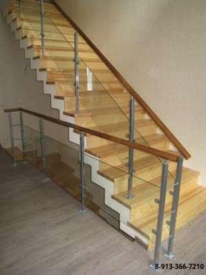 Металлическая интерьерная лестница в Барнауле Фото 3