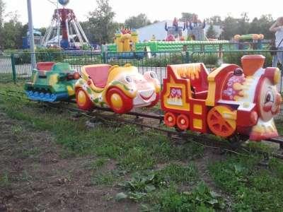 Аттракцион Детская железная дорога б/у в Барнауле Фото 1