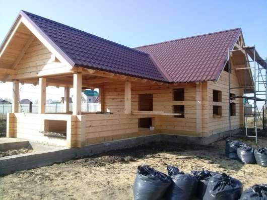 Строим дома, бани, беседки в Барнауле Фото 3