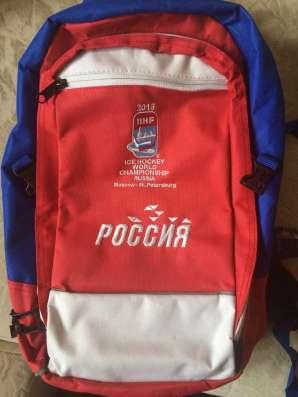 Хоккейный рюкзак оригинальный IIHF ЧМ2016
