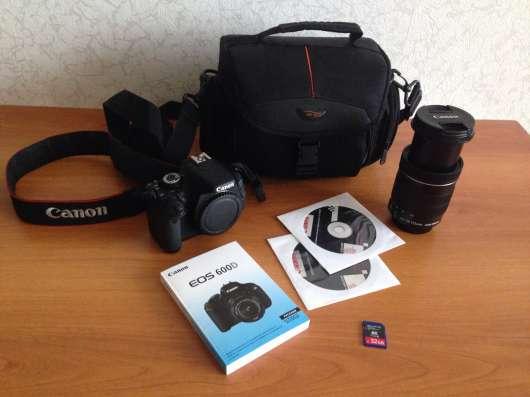 Зеркальный фотоаппарат Canon 600D в Нижнем Новгороде Фото 3