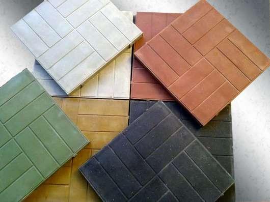 Плитку садовую полимерпесчаную 330*330*20мм в Тюмени Фото 2