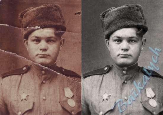 Профессиональная реставрация и восстановление фотографий