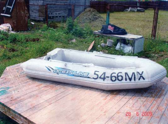 Надувная лодка Ocean Line 295X150X51 cm