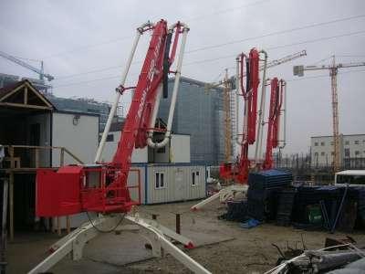 бетонораздаточные стрелы Cifa, Storg, Boom Makina,
