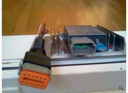 Voltage doubler ZF с 14 в на 28в на акп