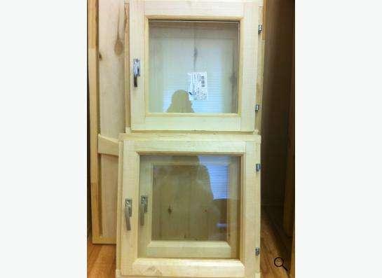 Двери и окна из массива